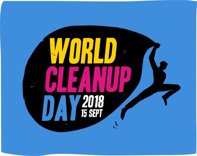 logo world clean day 2018