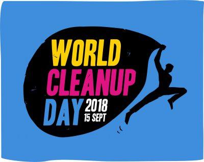 logo world clean day 2018